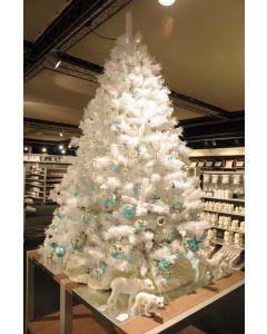 Sapin de Noël 150cm Luxe blanc