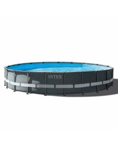 Kit Piscine Intex™ Ultra XTR Frame Ø 6.10 x 1.22m (Incl. filtre à sable)