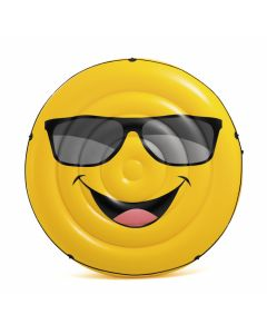 Matelas gonflable INTEX™ île smiley cool guy