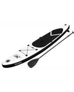 Planche de Stand Up Paddle XQmax gonflable avec accessoires (noir)