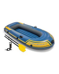 Intex bateau gonflable - Challenger 2 Set