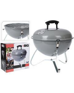 Barbecue au charbon boule 35cm gris