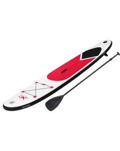 Planche de Stand Up Paddle XQmax gonflable avec accessoires (rouge)