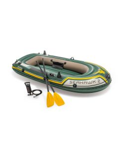 INTEX™ Canoë gonflable  - Kit Seahawk 2 (incl. pagaies & pompe)