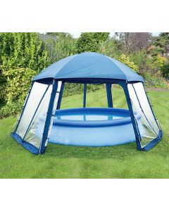 Tente de piscine