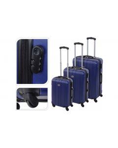 Valise bleue - 61 litres