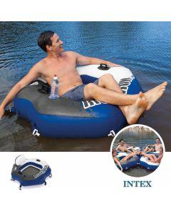 INTEX™ River Run Connect lounge 1.30 x 1.26m