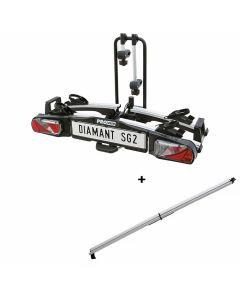 Porte-vélos Pro-User Diamant SG2 + Rampe de chargement
