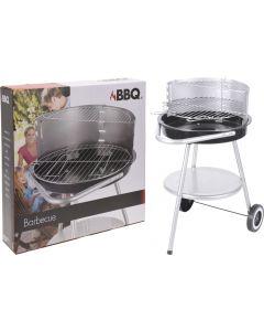 Barbecue au charbon de bois semi-circulaire 45 cm