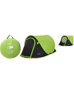 Tente de camping Pure Garden & Living Pop-Up Vert
