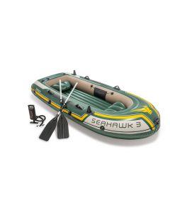 Intex bateau gonflable - Seahawk 3 Set