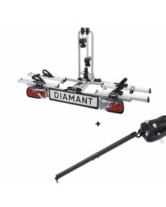 Porte-vélos Pro-User Diamant + Rampe de chargement