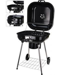 Barbecue charbon de bois carré