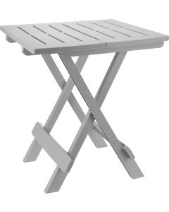 Table de camping gris 44 x 44