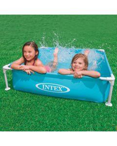 Mini piscine INTEX™ - bleue - 122 x 122 cm