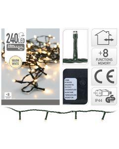 Éclairage led 240 ampoules LED blanc chaud