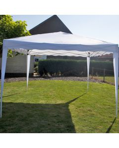 Easy up chapiteau 3x3m PE 250 gr/m2 blanc