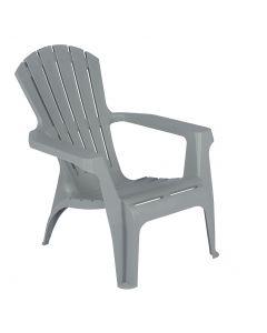 Chaise de jardin Dolomiti gris clair