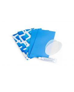 Kit de réparation bleu Intex