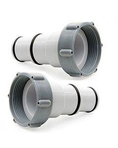 Adaptateur pour raccord de piscine 32 mm 2 pièces Intex
