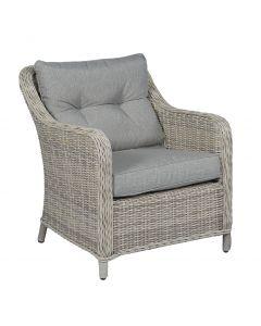 Chaise de jardin Sunset en résine tressée naturel