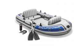 Intex bateau gonflable - Excursion 4 Set