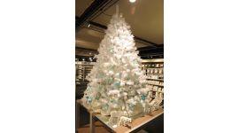 Sapin de Noël 180cm Blanc