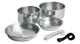 Set de casseroles de camping 5 pièces
