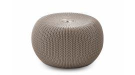 Pouf / Hocker Keter Cozy Seat beige - plastique