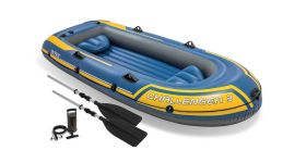 Intex bateau gonflable - Challenger 3 Set