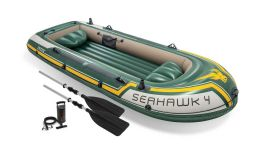 Intex bateau gonflable - Seahawk 4 Set